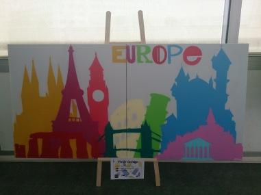 Exposition sur l'Europe organisée par le Mouvement des Jeunes Européens du Puy-de-Dôme - crédits A.C.