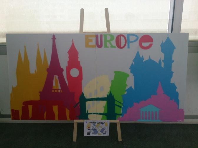 Exposition sur l'Europe organisée par le Mouvement des Jeunes Européens du Puy-de-Dôme - crédits A.C. (2014)