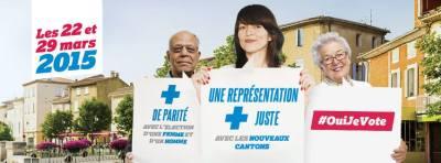 Campagne du Ministère de l'Intérieur pour les élections départementales 2015 - Crédits photos : Ministère de l'Intérieur