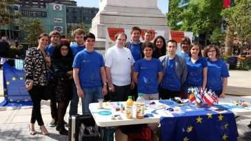 Journée de l'Europe avec les Jeunes Européens - crédits Jeunes Européens Auvergne