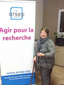 Irène Leclerc à la Fondation ARSEP - Crédits photos I.Leclerc