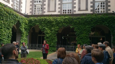 visite de la mairie de Clermont-Ferrand lors des JEP 2015 - Crédits photos A.C.