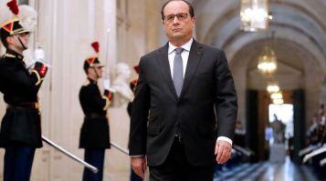 Président de la République, François Hollande au Congrès de Versailles - Crédits photos l'Express
