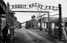 Entrée du Camp d'extermination d'Auschwit