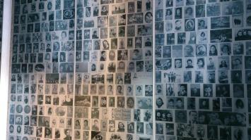 Mémorial des enfants présentant 3000 photos d'enfants juifs déportés - Mémorial de la Shoah - Crédits photos A.C.