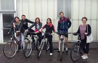 L'équipe de la Bicyclette Solidaire - Crédits photos SPF 63