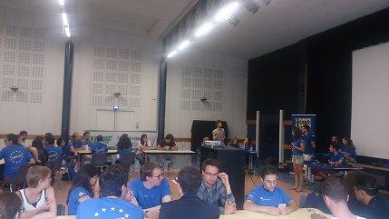Simulation du Parlement Européen