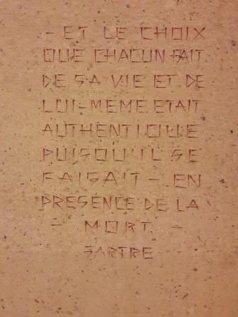Citation Sartre sur la déportation