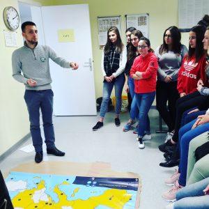 Europe par les Jeunes en lycée