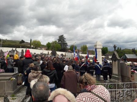 Cérémonie du 8 mai à Romagnat
